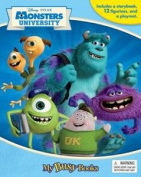 Disney Pixar Monsters University Book with Toys and Playmat