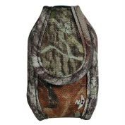 Nite Ize Universal Clip Case Cargo Cell Phone Holder with Holster Belt Clips, Tall, Mossy Oak