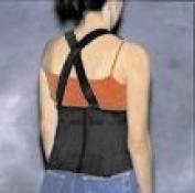 Back Support Industrial with Suspenders X-Lrg 45-49 - 45554