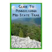 Mid State Trail Ass. 103250 Map and Guide Mountain State Trail 7 Mountain Pennsylvania by Mid State Trail AssociatioN