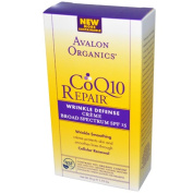 Avalon Active Organics 0954875 CoQ10 Repair Wrinkle Defence Creme SPF 15 - 50ml