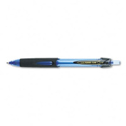 uni-ball 42071 Power Tank RT Ballpoint Retractable Pen- Blue Ink- Bold- Dozen