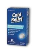 Natra-Bio 0737536 Cold Relief Non-Drowsy - 60 Tablets