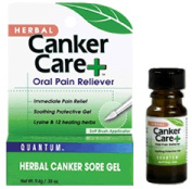 Frontier Natural Products Co-op 220497 Quantum Oral Care Canker Care plus Herbal Canker Sore Gel 10ml