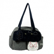 Blancho Bedding K259-GRAY Sunny Day Canvas Shoulder Bag / Swingpack / Travel Bag