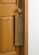 Sustainable Lifestyles doorknob-sienna Door Knob Hanging Sisal Scratch Pad - Sienna