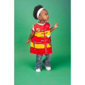 Dexter Educational Toys DEX1205 Toddlers Dress-Up Outfit Firefighter