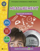 Classroom Complete Press CC3315 Measurement - Task and Drill Sheets