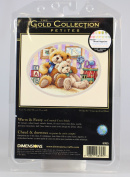 "Dimensions Gold Collection Petite ""Warm and Fuzzy"" Counted Cross Stitch Kit, 18cm x 13cm"
