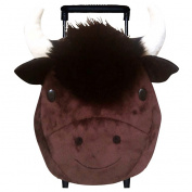 Sassafras 3525BF Kids Plush Pull-Along Backpack - Benjamin Buffalo