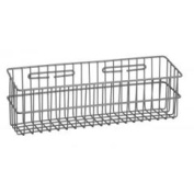 R & B Wire 2250 19.5 in. L x 6 in. W x 4.5 in. D Metal Medical Storage Basket