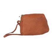 David King& Co 517C Top Zip Mini Bag- Cafe