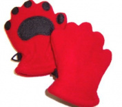 Bearhands 703660 Toddler Mittens - Red