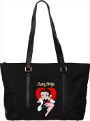 American Favorites HB-109 Betty Boop Folio Microfiber Tote Handbag