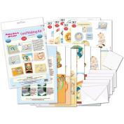Flower Soft 13CMKIT7 Flower Soft Pop Up Card Making Kit-Mabel Lucie Attwell-Pop Up Cards