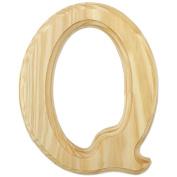 Juma Farms 350421 Wood Letters 15cm -Letter Q