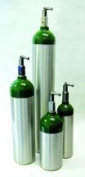Oxygen 'E' Cylinder - 682 Litre with Toggle - 8048