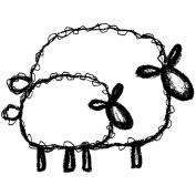 Magenta 486274 Magenta Cling Stamps-Sheepish Pair