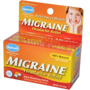Hylands Homoeopathic 0230516 Migraine Headache Relief - 60 Tablets