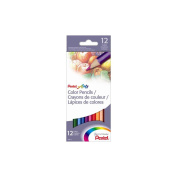 PENTEL OF AMERICA PENCB812 PENTEL colour PENCILS 12 COUNT