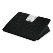 Fellowes Mfg. Co. FEL8032201 Adjustable Foot Rest- Tilt- 17-.130cm .x13-46cm .x4-.100cm .- Black-Silver