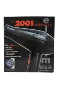 Elchim W-HC-1161 2001 High Pressure Hair Dryer -Red/Black - 1 Pc - Hair Dryer