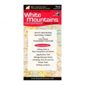 Map Adventures 103076 White Mountains Wateproof Trail Map