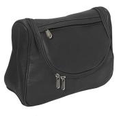 Piel Leather 2881-BLK Hanging Utility Kit - Black