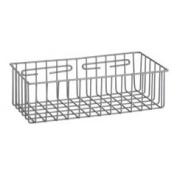 R & B Wire 2255 15 in. L x 7 in. W x 3.5 in. D Metal Medical Storage Basket - Wall Mounted