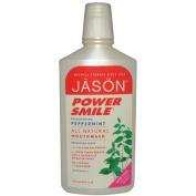 Jason Natural Products 0115584 PowerSmile Mouthwash Peppermint - 470ml