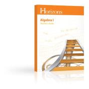 Alpha Omega Publications JMR080 Horizon Math 8 Test & Resource Guide