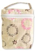 Trend Lab 101984 Bottle Bag- Pink Safari