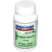 Nci Dr. Hans Nieper 0425819 Nutrient Carriers Advanced Research Potassium Orotate - 175 mg - 200 Vegetable Capsules
