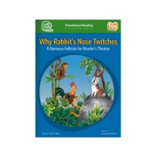 Leap Frog 90850 Tag School Transitional Reader Book Why Rabbits Nose Twitches