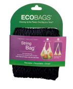 Eco-Bags 1161157 Market Collection String Bag Long Handle 55.9cm Black 1 Bag - Case of 10 - 20.3cm X 20.3cm
