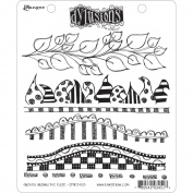 Ranger DYR-34513 Dyan Reaveleys Dylusions Cling Stamp Collection-Further Around The Edge