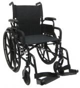 Karman Healthcare 802-DY Lightweight Wheelchair-Black