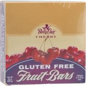 Betty Lous 0813352 Gluten Free Fruit Bars Cherry - 12 Bars