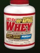 Met-Rx METXNATU05LBVANIPW 100 Percent Natural Whey 2.3kg Vanilla