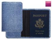 Raika RO 115 MAGENTA Passport Cover - Magenta