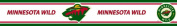 Trademarx RBP WILD Minnesota Wild Licenced Peel-N-Stick Border