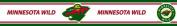 Trademarx RBP WILD Minnesota Wild Licenced Peel-N-Stick Border
