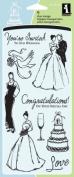 Inkadinkado ICCSO-30383 Inkadinkado Clear Stamps 10cm . x 20cm . Sheet-Wedding