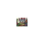 Acrylic Paint Your Own Masterpiece Kit 28cm x 36cm -Romantic Cottage