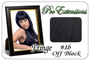 Brybelly Holdings PRFR-1b No. 1b Off Black Pro Fringe Clip In Bangs