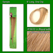 Brybelly Holdings PRO-1004 No. 18-22 Light Blonde with Dark Blonde Highlights Sample