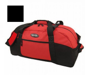 Luggage America S-1036-BK Sports Plus 36 Polyester Sports Duffel- Black
