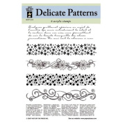 Alvin HOTP1014 Clear Stamps Delicate Patterns