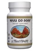 Maxi Health Kosher Vitamins 0135095 Maxi D3-5000 - 90 Tablets