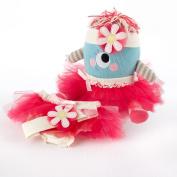 Baby Aspen BA15029NA - Clara the Closet Monster - Baby Bloomers, Headband and Monster Plush Toy Gift Set